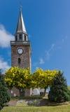 La tour de la vieille haute église à Inverness Photo libre de droits