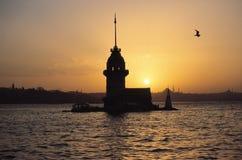 La tour de Leander Image libre de droits