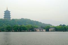 La tour de Leifeng Image stock