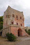 La tour de Markellos à l'île d'Aegina Photos libres de droits