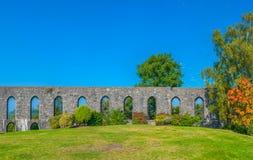 La tour de McCaig dans Oban Photos stock