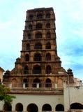 La tour de palais de maratha de thanjavur Image libre de droits