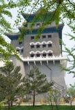 La tour de tir à l'arc de Qianmen photographie stock