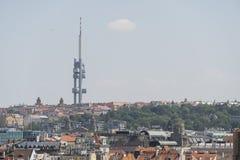 La tour de TV à Prague Photos stock