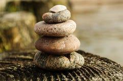 La tour des roches sur le brise-lames 3 Image libre de droits