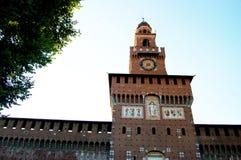 La tour du château Photo stock