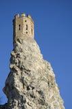La tour du château de Devin près de Bratislava Images libres de droits