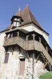 La tour du cordonnier, Sighisoara photos stock