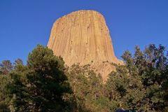 La tour du diable Image stock