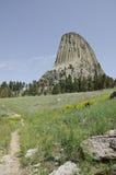 La tour du diable de chemin Image stock
