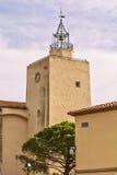 La tour du port Grimaud Images libres de droits