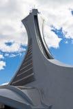 La tour du Stade Olympique à Montréal, Canada Photographie stock libre de droits