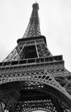 La tour Eiffel - Eiffelturm in Paris. La tour Eiffel in Paris 2009 in black and white Royalty Free Stock Image