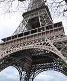 La tour Eiffel - Eiffelturm in Paris Stock Photos