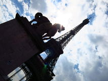La tour eiffel Stock Images