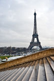 La Tour Eiffel view Stock Images