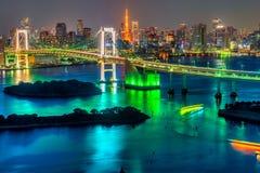 la tour en acier de Tokyo d'élévation résidentielle moderne élevée en verre concrète du Japon de constructions de construction d' images stock