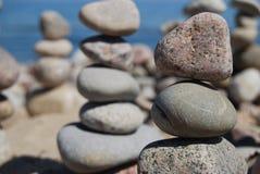 La tour en pierre Images libres de droits