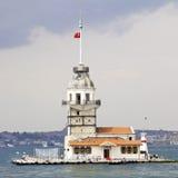 La tour Istanbul Turquie de la fille Image libre de droits