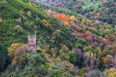La tour médiévale de Doncos Photos libres de droits