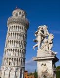 La tour penchée de Pise photographie stock