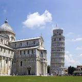 La tour penchée de Pise Photos libres de droits