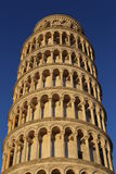 La tour penchée de Pise/de tour de Pise images libres de droits