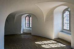 La tour ronde de Rundetaarn à Copenhague Photographie stock libre de droits