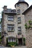 La Tour Saint-Laurent in Segur-le-Chateau. The Saint-Laurent tower in the most beautiful village of Segur-le-Chateau royalty free stock image