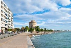 La tour sur le rivage Photo libre de droits