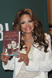 La Toya Jackson. At bookisigning for her new memoir Starting Over at Barnes & Noble at The Grove, Los Angeles. June 28, 2011  Los Angeles, CA Picture: Paul Royalty Free Stock Image