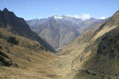 La traccia del Inca Fotografie Stock