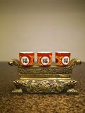 La tradition chinoise prient l'objet Image stock