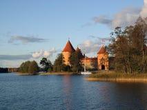 La Trakai-Lithuanie Image libre de droits