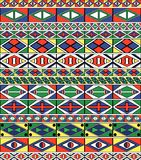 la trame de la configuration d'Africain-tribal-art Photos stock