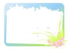 La trame de la fleur tendre Images stock