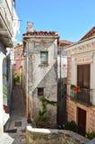 La tranquilité du village de Rivello, dans la région de Basilicate photo stock