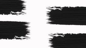 La transición abstracta de la brocha revela con el canal alfa - transparencia libre illustration