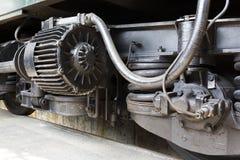 La transmission des trains de voyageurs fatigue des roues Photo libre de droits