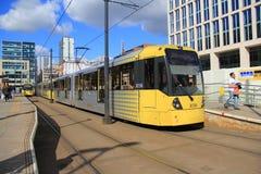 La tranvía de Reino Unido Fotos de archivo libres de regalías