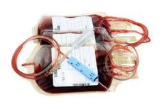 La trasfusione sanguinoso-dona Immagine Stock