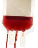 La trasfusione sanguinoso-dona Immagini Stock