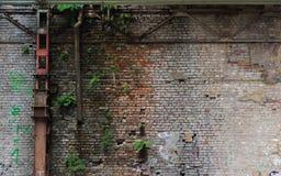 La trave di acciaio rossa Fotografia Stock Libera da Diritti