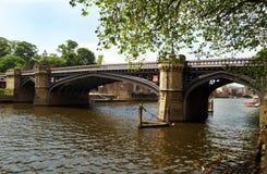 La travesía de río Fotografía de archivo libre de regalías