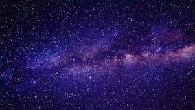 La travesía del viaje del espacio protagoniza rápidamente a una galaxia violeta libre illustration