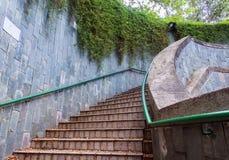 La travesía subterráneo en el parque de enlatado del fuerte Imagen de archivo libre de regalías