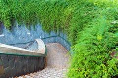 La travesía subterráneo en el parque de enlatado del fuerte Fotografía de archivo libre de regalías