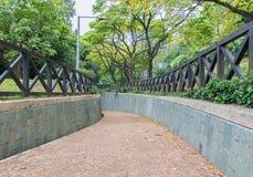 La travesía subterráneo en el parque de enlatado del fuerte Foto de archivo libre de regalías