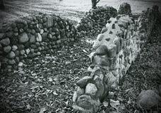 La trayectoria de la roca Fotos de archivo libres de regalías