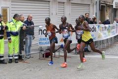 La trentunesima maratona di Venezia Fotografia Stock Libera da Diritti